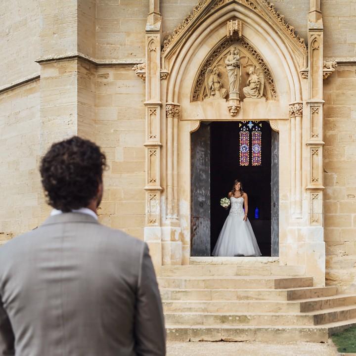 Bruidsfotografie first look