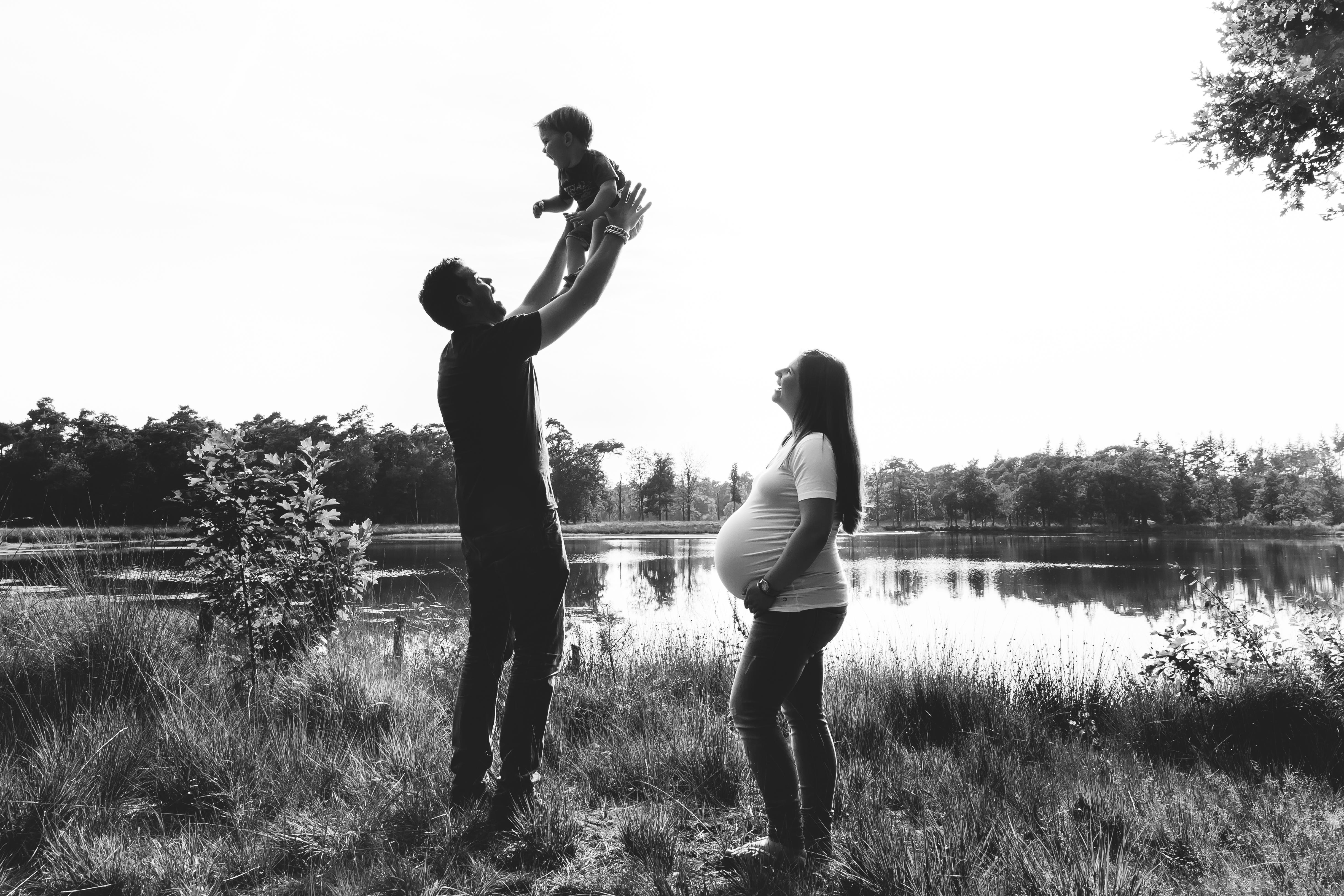 zwangerschapsfotografie – coupleshoot – kinderfotografie – gezinsfotografie