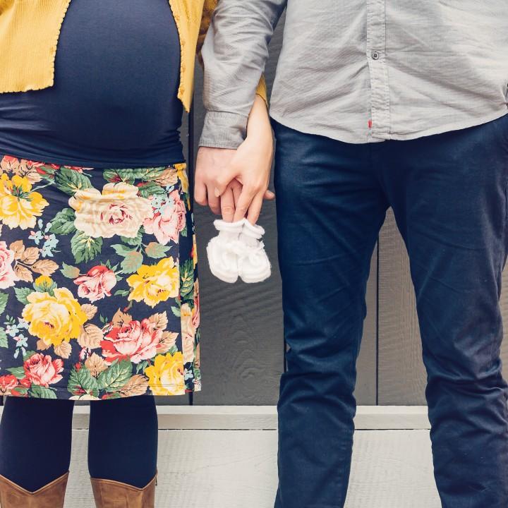 Zwangerschapsfotografie aan huis, Breda