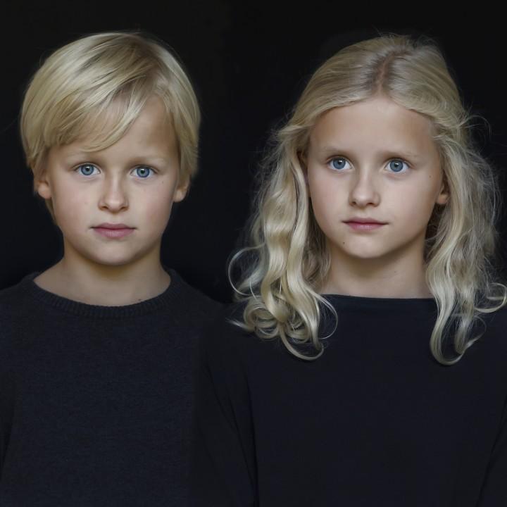 Kinderportret als cadeau voor papa, Breda
