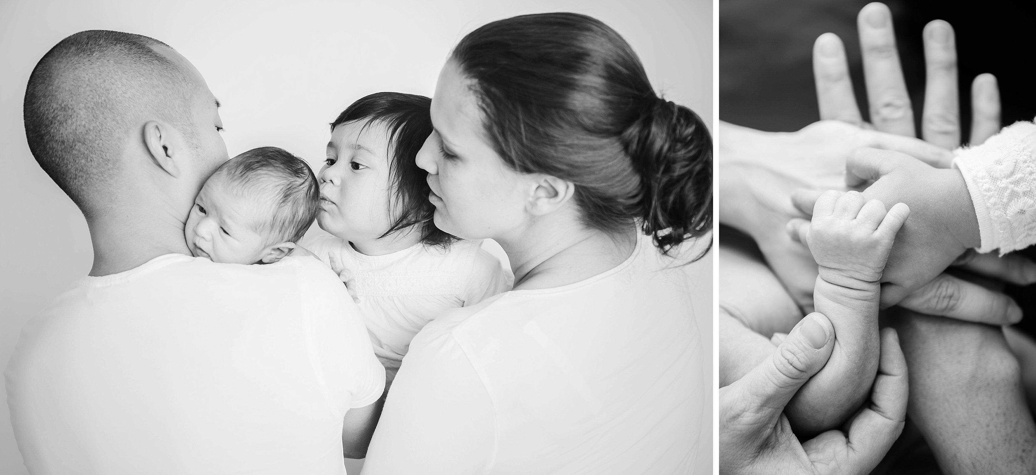 Newbornreportage, gezinsfotografie