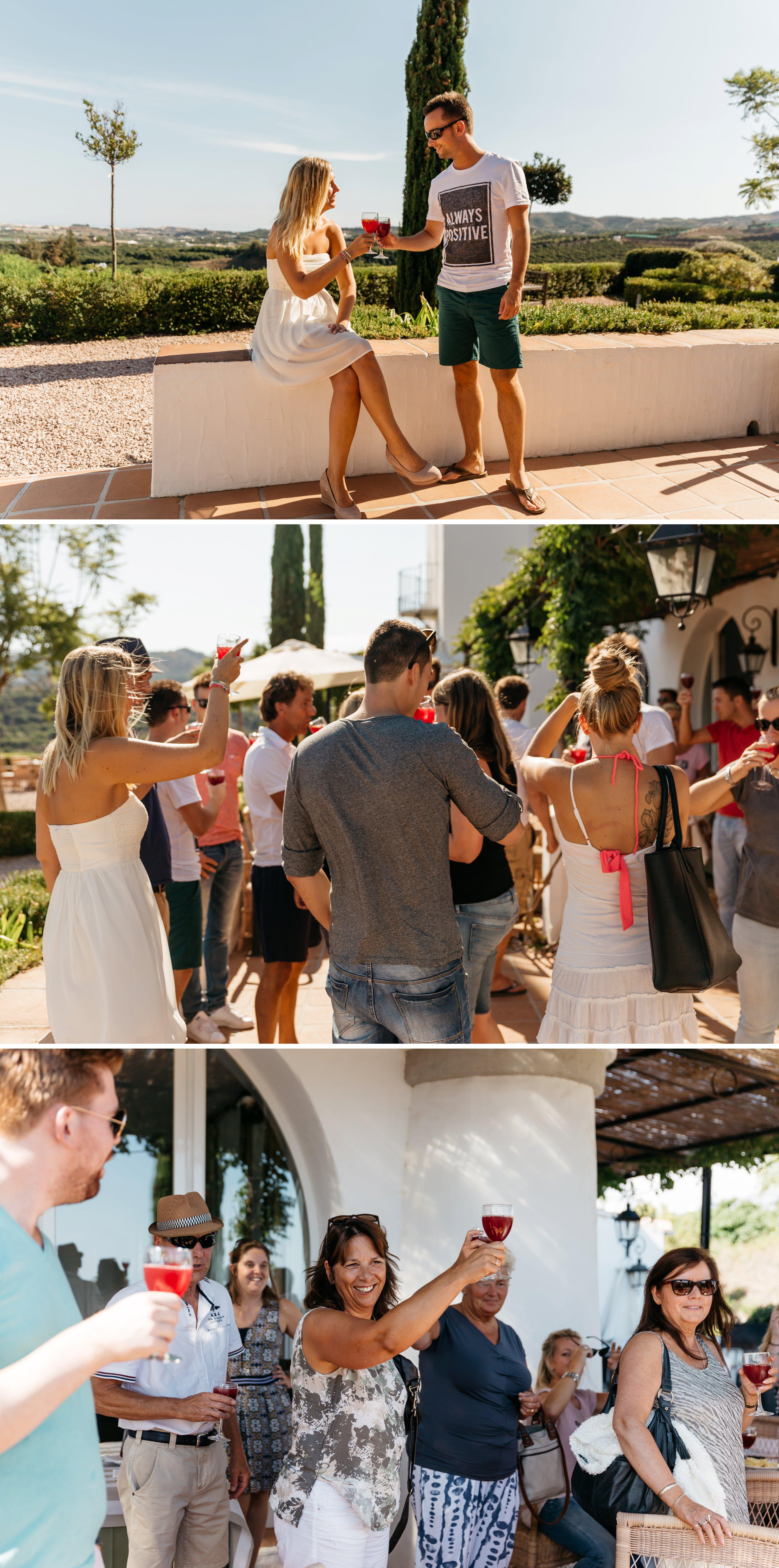 bruidsfotografie in Spanje