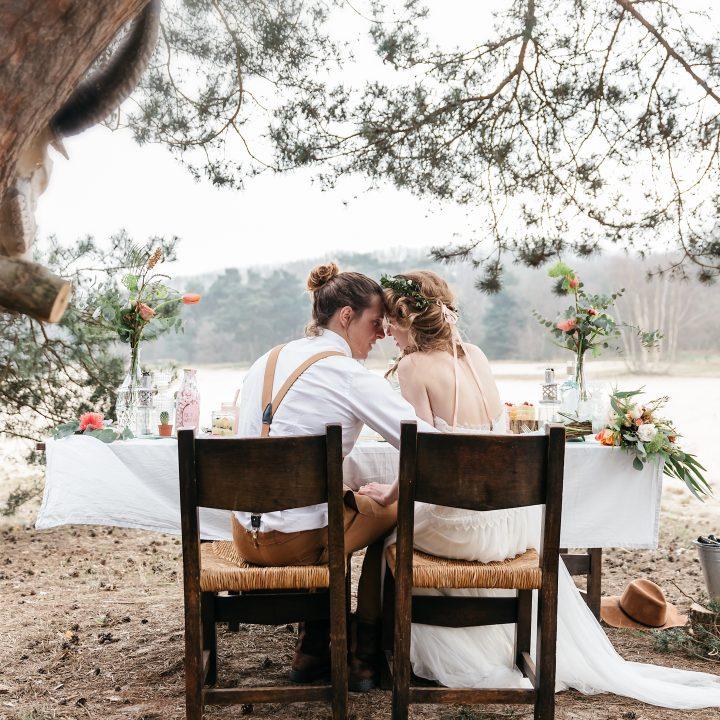 STYLED SHOOT - bohemian festival wedding