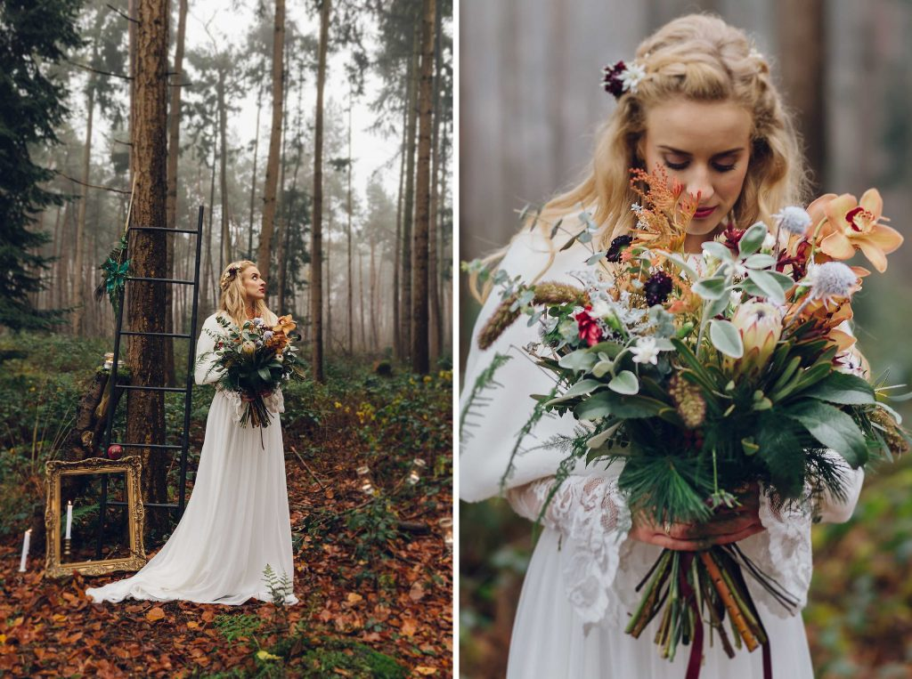STYLED SHOOT - winter fairytale weddingshoot§