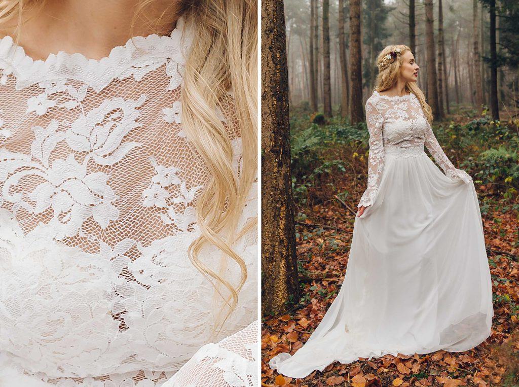 STYLED SHOOT - winter fairytale weddingshoot