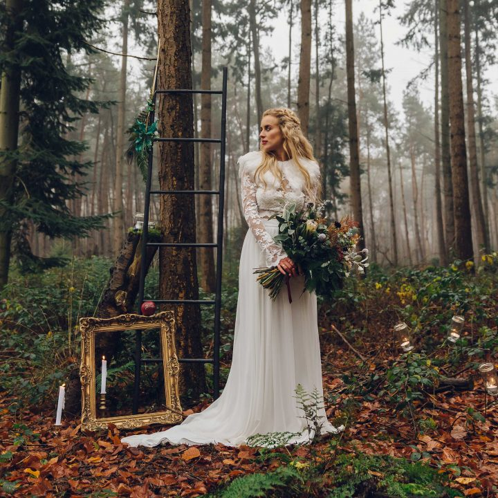 STYLED SHOOT - winter fairytale weddingshoot