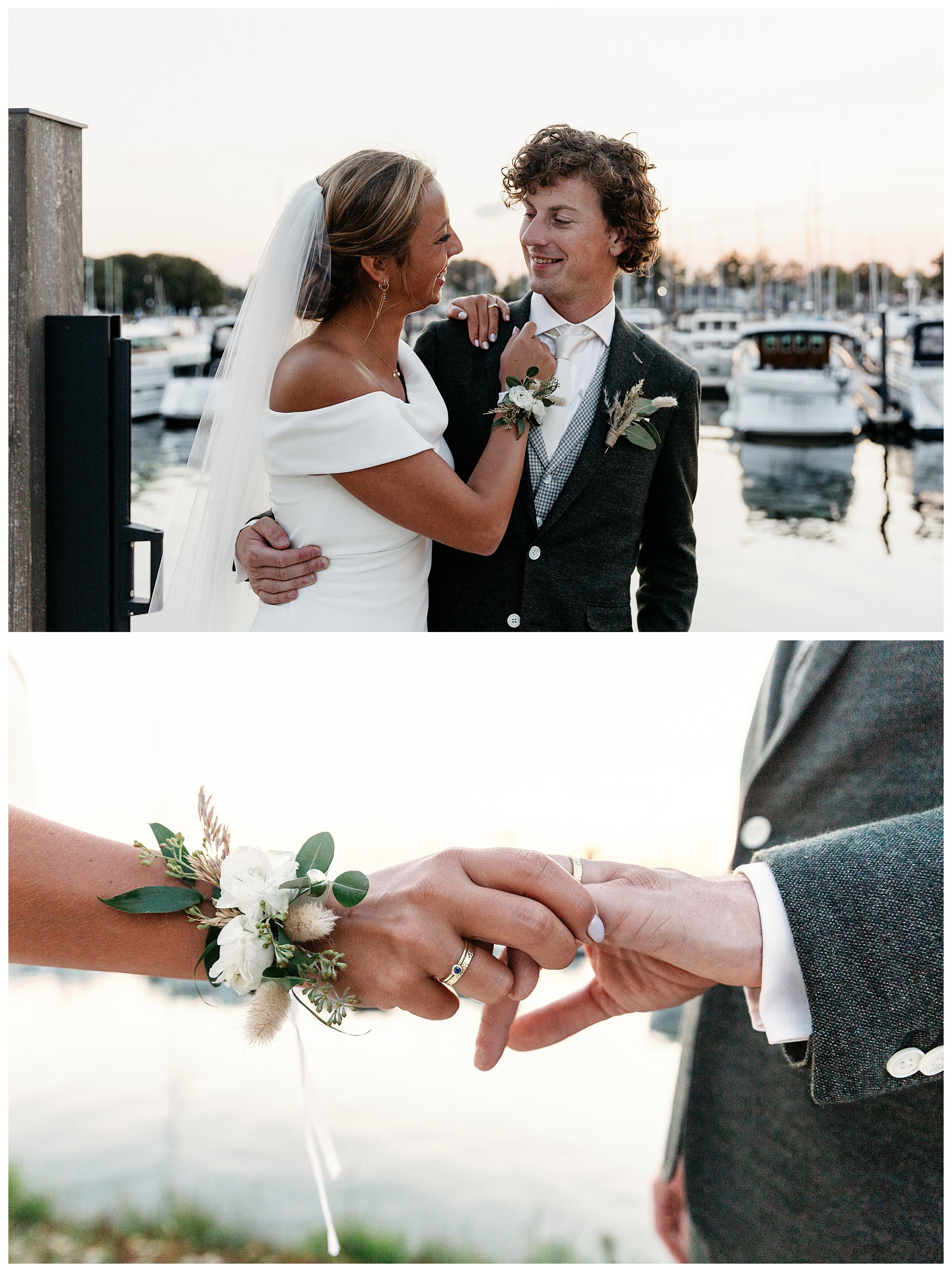 Een bourgondische bruiloft
